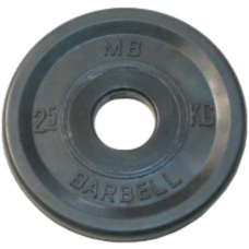 MB-PltBE-2,5 Диск BARBELL Евро-классик 2,5 кг