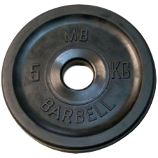 MB-PltBE-5 Диск BARBELL Евро-классик 5 кг