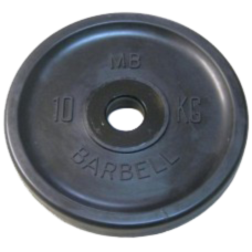 MB-PltBE-10 Диск BARBELL Евро-классик 10 кг