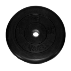 MB-PltB50-10 Диск BARBELL Стандарт 10 кг